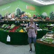Literatur im Supermarkt
