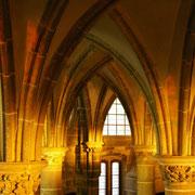 scriptorium et lumineuses croisé d'ogives