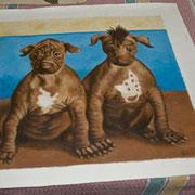 ...zwei ganz dicke Hunde.
