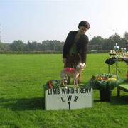 Lucys Abschied von der Bahn (mit 9 Jahren) in Venlo.....