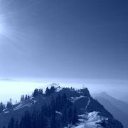Skitouren- bzw. Schneeschuhwanderung auf den Rauschberg