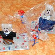 Hochzeitsbären verpackt (Beispiel)
