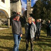 Al cantiere di restauro del santuario, un ospite speciale: Giovanni Storti