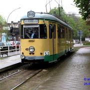 Der GT6 nimmt die 14 km lange Strecke unter die Räder.