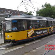 Die von Stuttgart übernommen. Kurzgelenktriebwagen GT4 (Typ Esslingen) sind heute nicht mehr im Betrieb,