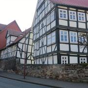 Das schiefe Haus von Wanfried