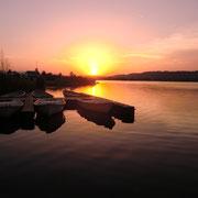 die üblichen Sonnenuntergang-Fotos