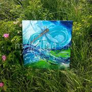Libelle in Natur
