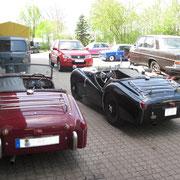 Triumph TR 3 mal zwei
