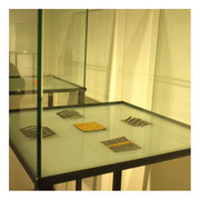 Workshop-Thema: BEGRENZUNGEN / Material: STAHL, FEINGOLD tauschiert, MAGNETEN