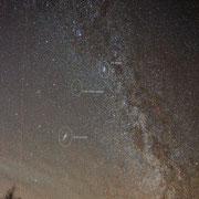 """Milchstraße """"Nord"""" mit Andromeda, Komet Lovejoy und Chi Persei"""