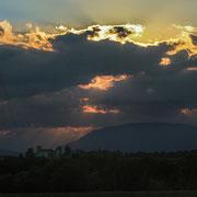 """""""Sonnenwolken"""" bei Udine"""