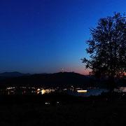Sonnenuntergang über dem Wörthersee