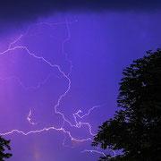 Blitz über Pörtschach, 13.07.13