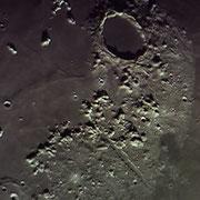 Plato und Vallis Alpes