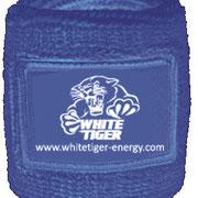 Schweissband bedruckt White Tiger