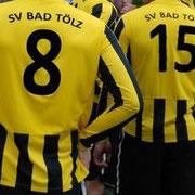 Nike Trikot SV Bad Tölz beflockt