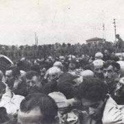 Ликвидация белостокского гетто в августе 1943 года (Фотография взята из книги М.Братушка «Партизанская война на Беларуси». Мн. 2011. С.66)