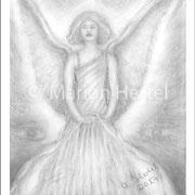Engelbild Engel des Schutzes