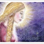 Engelbild Vom Dunkel ins Licht