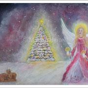 Engelbild Weihnachtsengel 2020