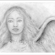 Engelbild Engel der Vision