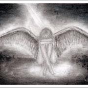 Engelbild Engel der Verzweiflung