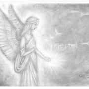 Engelbild Engel des Lichts