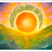 Energiebild Sun & Moon (unverkäuflich)