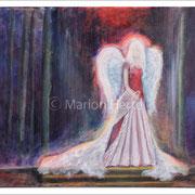 Engelbild Engel im Wald
