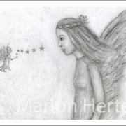 Engelbild Engel und Elfe