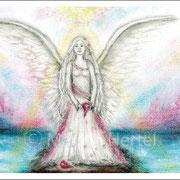 Engelbild Engel des gebrochenen Herzens
