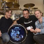 Drumclinic 2013 mit Errorhead Drummer Zacky Tsoukas