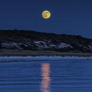Moonrise walking, Anholt, Kattegat. Max. Foto-Format 40 x 28 cm. Preise: Ab 125 CHF.