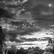 Betonte Wolken