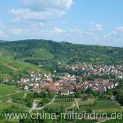Auf der Rückseite des Rotenberg liegt der Stadtteil Luginsland, einer der schönsten und abgelegensten Stadtteile Stuttgarts.