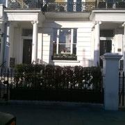 Des maisons typiques British