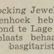 THE ROCKING JEWELS: Dagblad de Stem 29-3-1963