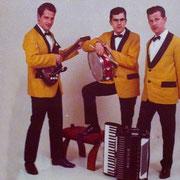 The Elkoms (ca. 1965) vlnr: Geert Keij, Michel Balemans en Kees Balemans