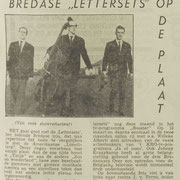 THE LETTERSETS: Dagblad de Stem 24-1-1964