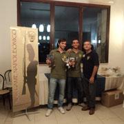 La squadra 1^ classificata: Edoardo Plescia e Gabriele Tabacchini
