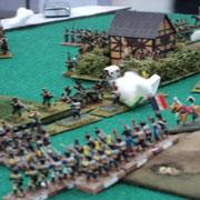 Campagna di Russia 1812. Attacco dell'esercito Francese comandato dalla squadra Pecchia-Folgori