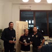 La squadra 3^ classificata: Angelo Raviele e Federico Bartelli