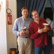 I terzi classificati: Alessandro Cortinovis (Udine) e Dario Cardelli (Udine)