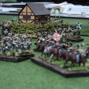 Campagna del Belgio 1815. L'esercito Prussiano cerca di reaggire al massiccio attacco Francese