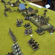 Russia 1812. Veduta della battaglia fra Federico Bartelli (Russia) e Fausto Cominato (Francia)