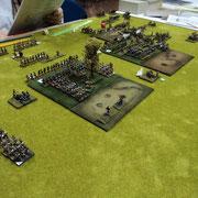 Russia 1812. Veduta della battaglia fra Antonino Di Bartolo (Russia) e Silvio Scotti (Francia)