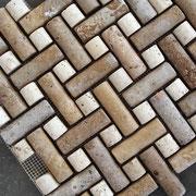 Mosaico de Travertino 3D