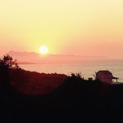 ... herrliche Sonnenuntergänge ...