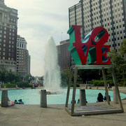 Love Sculpture von Robert Indiana